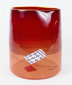 Red Blanket Cylinder