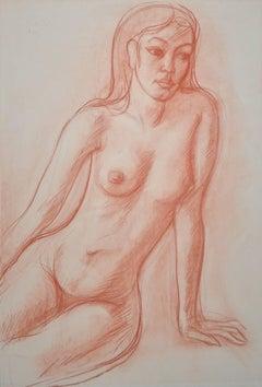 Thai Beauty - Seated Female Nude