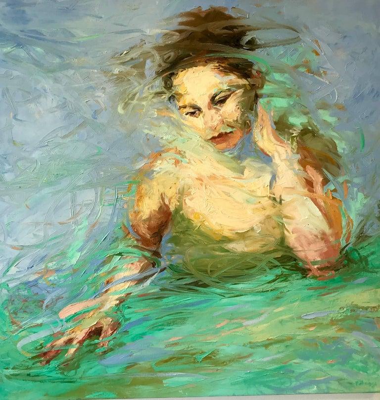 Joyce Polance Figurative Painting - MUSE