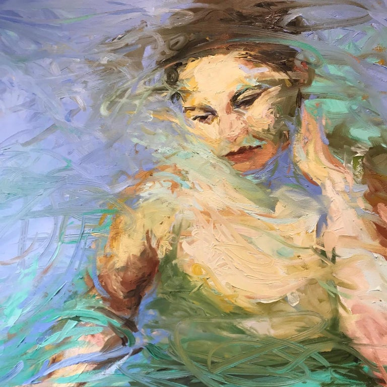 MUSE - Painting by Joyce Polance