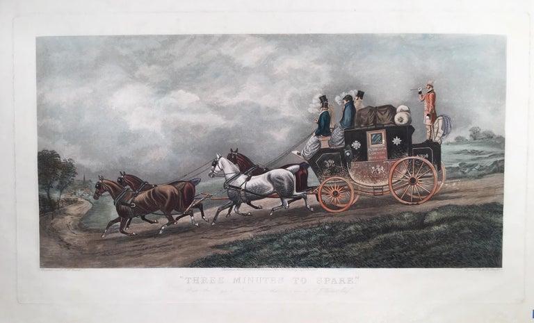 Thomas Walker Figurative Print - Plymouth to London Royal Mail