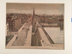 1904 View of the Croton Reservoir at Fifth Avenue Looking South from 42nd Street