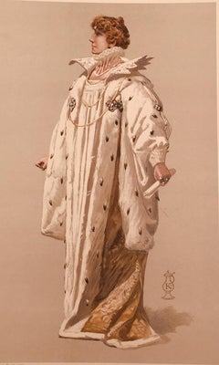 Sarah Bernhardt, English Vanity Fair Portrait