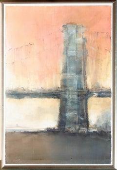 Sunset Brooklyn Bridge 1