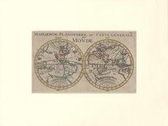 1700 World Map