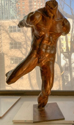 Bronze Male Nude