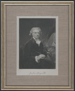 Framed Portrait of Joshua Reynolds