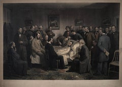 Ritchie's Death of President Lincoln, Engraved from the Painting