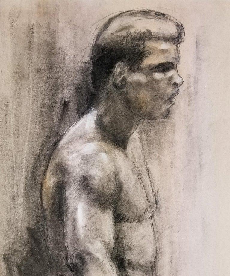 Ali vs. Frazier - Art by Homer Guerra