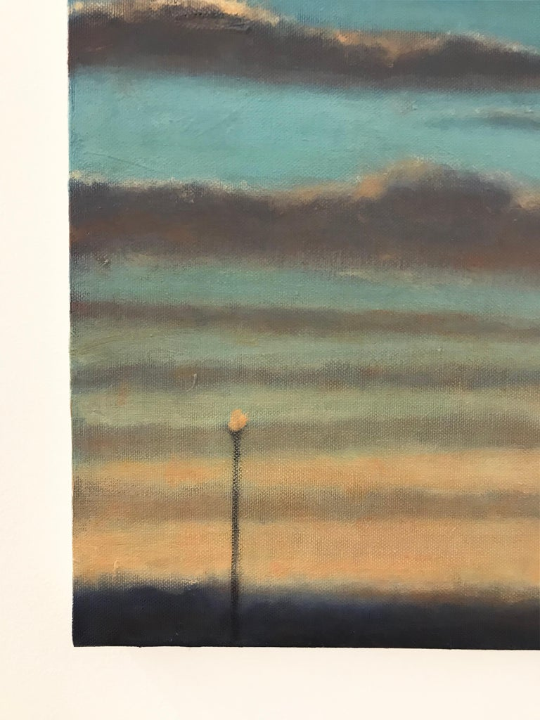 Washington D.C. based artist Scott Ivey's collection of paintings in oil and charcoal is a melancholic and desolating depiction of a city in the peripheries of the sun's illumination. His works illustrate the enigmatic beauty of urban