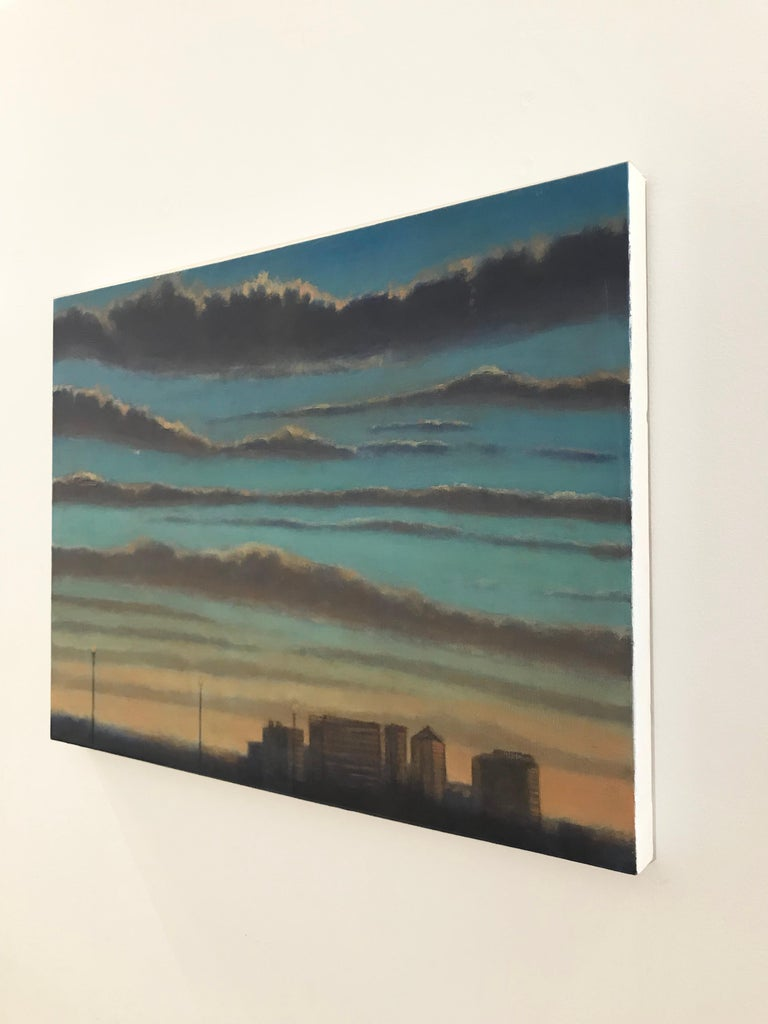 Rosslyn  - American Realist Painting by Scott Ivey