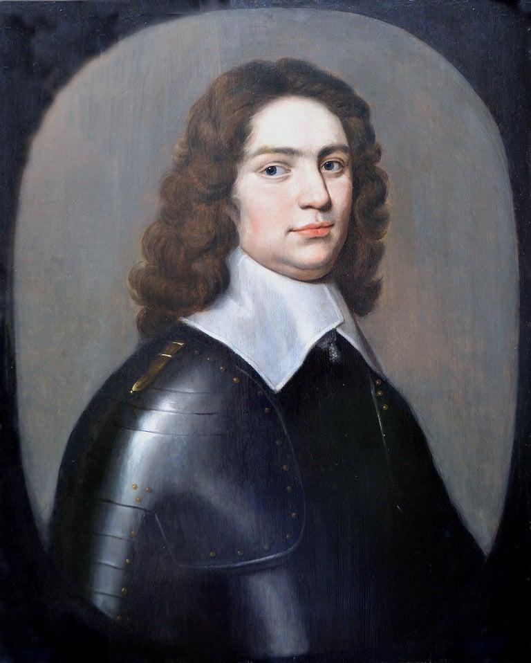 Circle of Gerard van Honthorst Portrait Painting - Portrait of a Gentleman