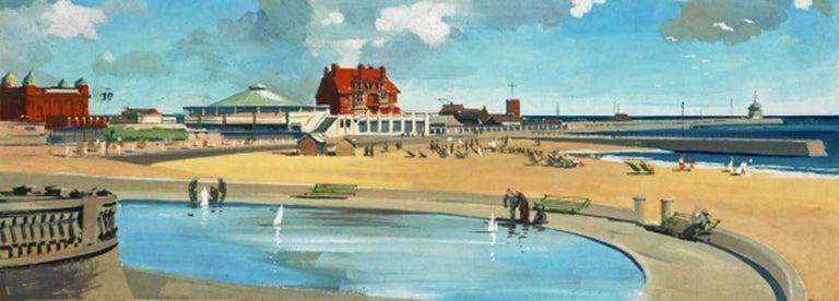 Frederick Donald Blake Landscape Art - Gorleston on Sea, Norfolk