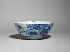 Large Delftware Punchbowl