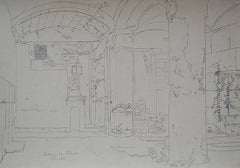 Solomon's Stables - Sketch for Orientalist Painting
