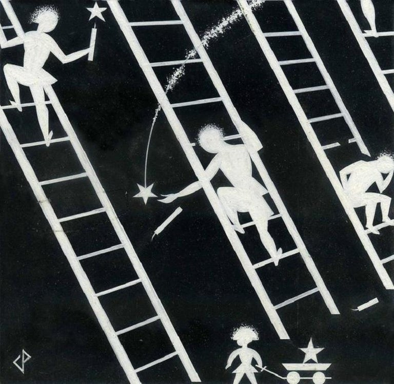 Charles Paine Figurative Art - Ladders