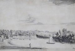 A Prospect of Richmond Park and Town from the Thames side