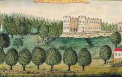 A View of Beaufort Castle - Early 19th Century Watercolour
