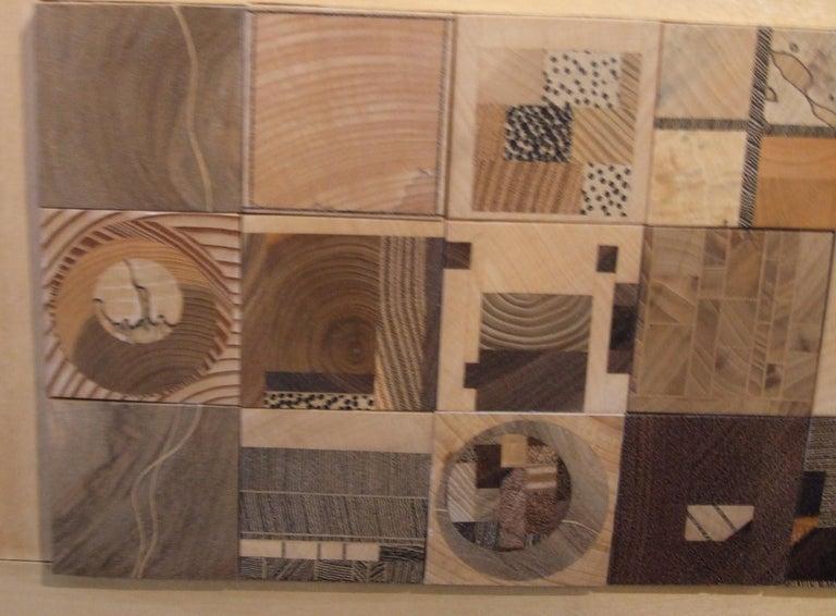 mosaic - Abstract Mixed Media Art by MERIGOT Jean-Luc