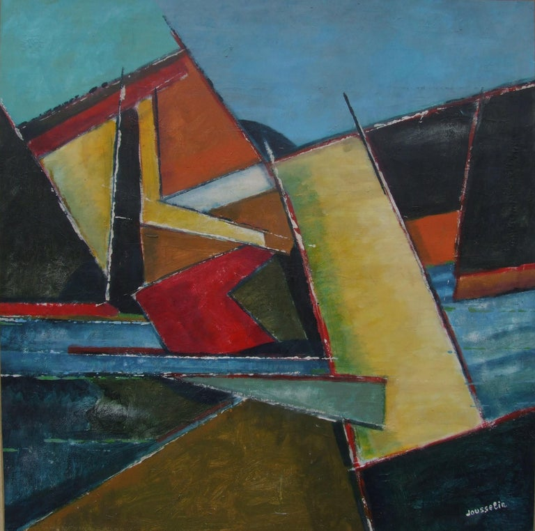 François Jousselin Abstract Painting - abstract 12