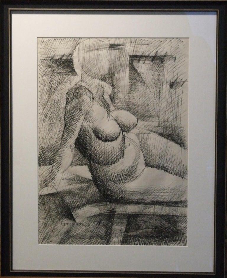 Femme nue - Art by Marcel Gromaire