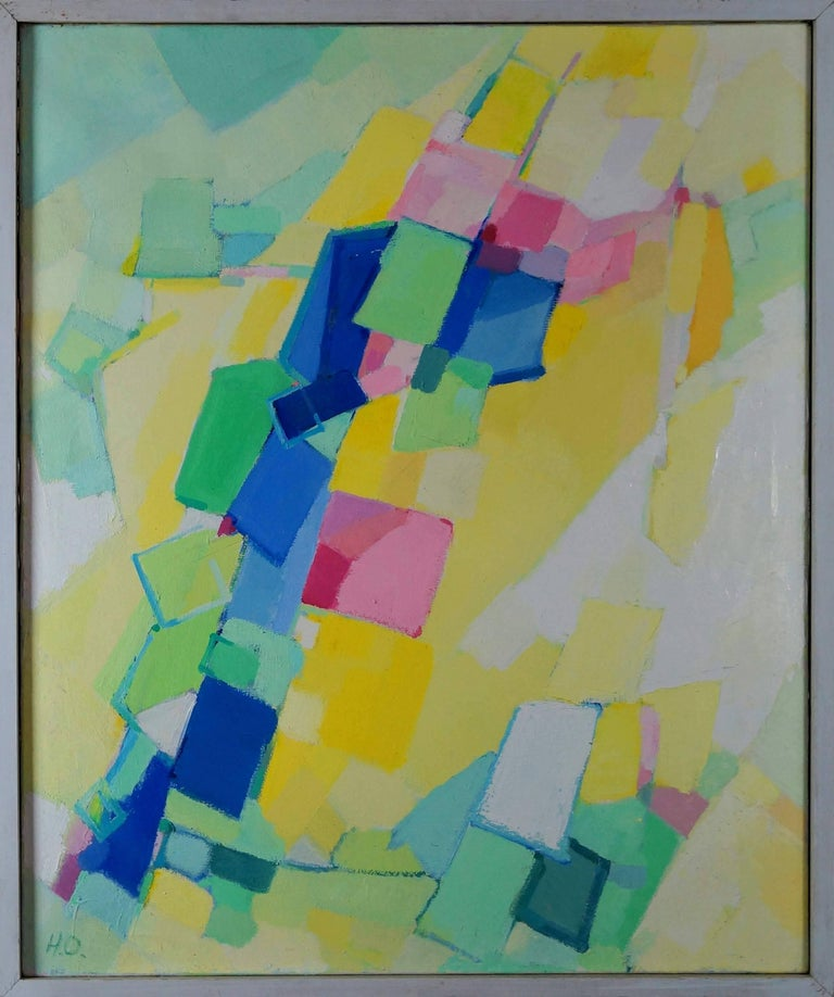 Otting Hanne Abstract Painting - Abstract Composition MO1