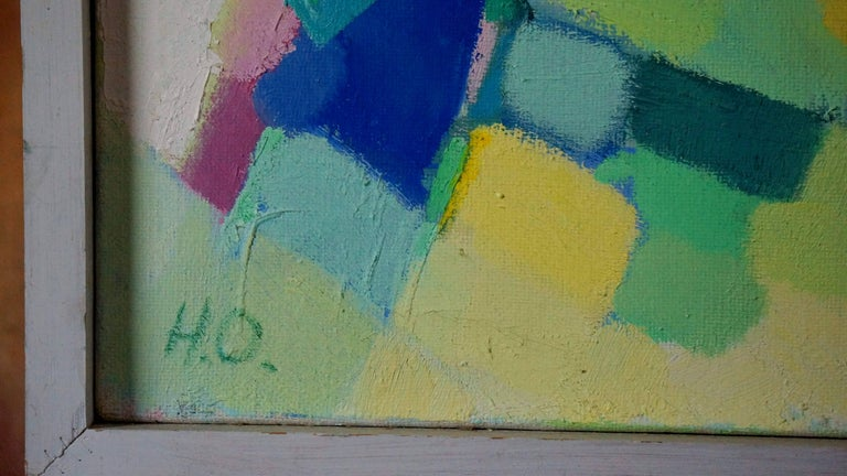 Abstract Composition MO1 - Painting by Otting Hanne