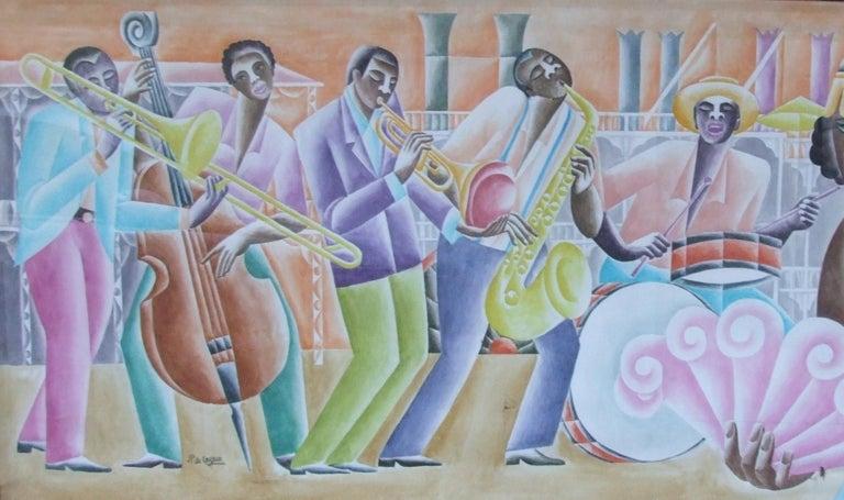 Jazz Panel #5 - Art by Paul de Cayeux