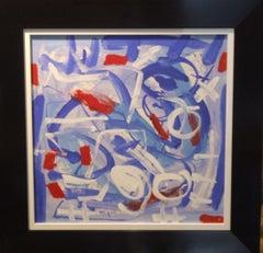 abstract bleu