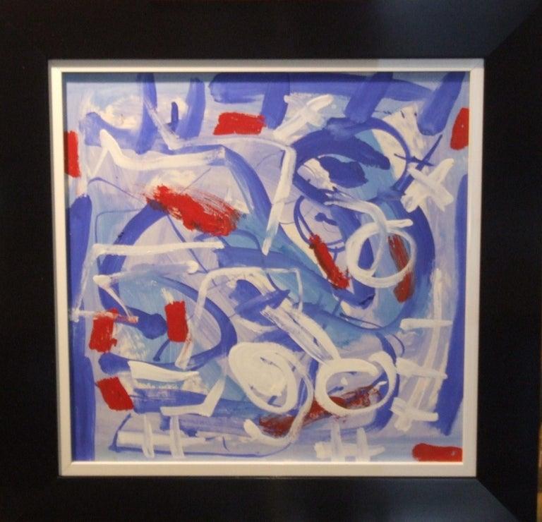 Pascal Simonpietri Abstract Drawing - abstract bleu
