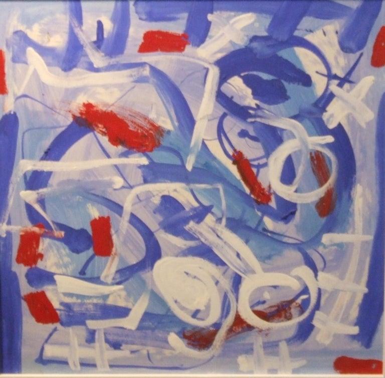 abstract bleu - Art by Pascal Simonpietri