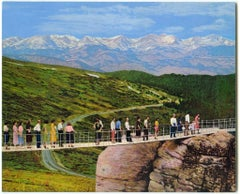 """small scale landscape, """"Wish You Were Here (On The Bridge)"""", (Photorealism)"""
