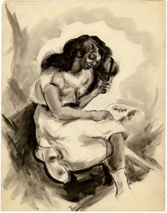 Untitled (Young Girl Reading)