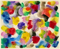 Untitled (Color is Life) — Mid-Century Abstract Expressionism