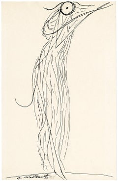 Untitled (Figurative Abstraction of Isadora Duncan #2)