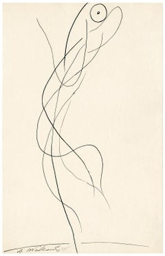 Untitled (Figurative Abstraction of Isadora Duncan #3)