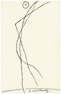 Untitled (Figurative Abstraction of Isadora Duncan #4)