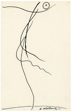 Untitled (Figurative Abstraction of Isadora Duncan #6)