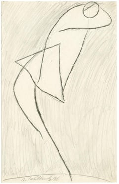 Untitled (Figurative Abstraction of Isadora Duncan #7)