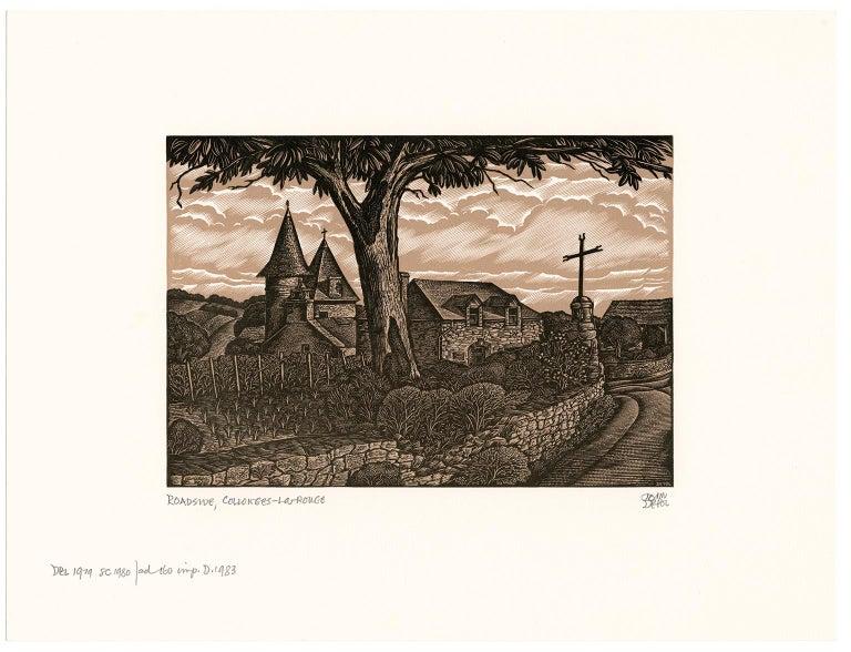 Roadside, Collonges-La Rouge - Print by John DePol
