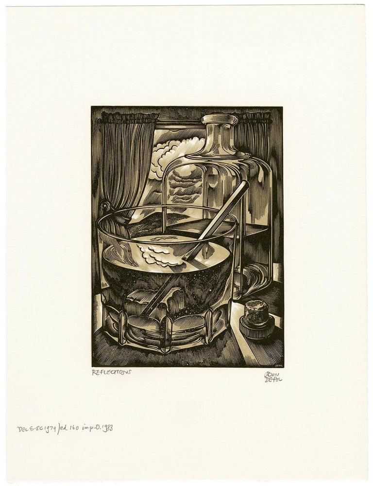 Reflections - Print by John DePol