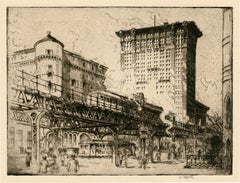 The Elevated, East 42nd Street, New York