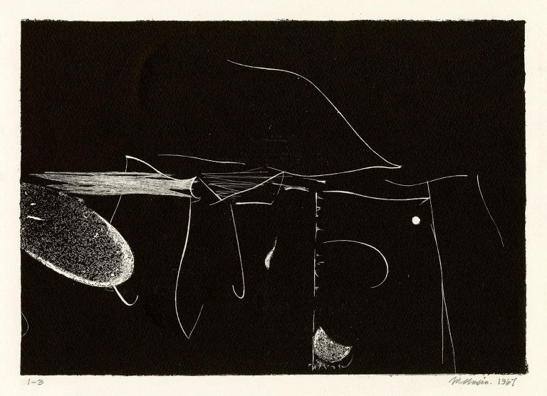 Bumpei Usui Abstract Print - Untitled Abstraction