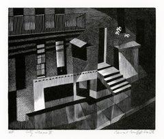 City Scene II   — mid-century modern