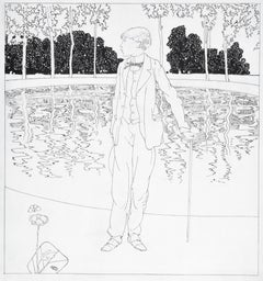 Portrait of the Young Aubrey Beardsley