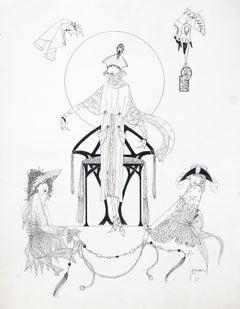 Art Deco Fashion Design