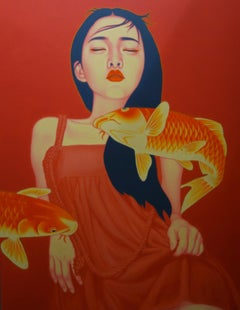 Untitled, Oil on Canvas, Xu De Qi, 21st Century