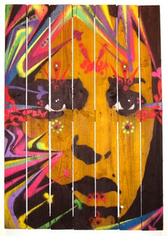 Untitled #6 (Face with colors)