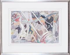 British, 20th Century original painting 'Bohemian Fantasy'