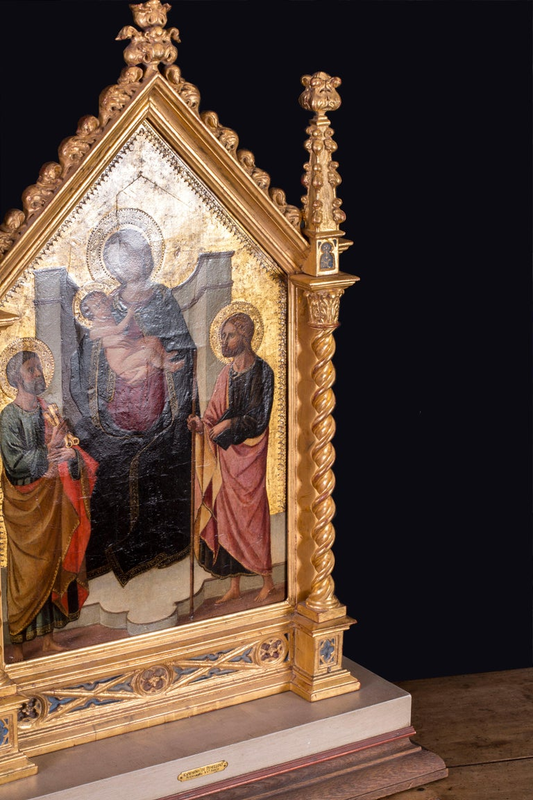 The Madonna and Child with St. Peter and John the Baptist For Sale 2